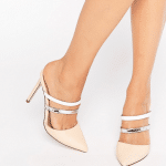 ASOS pointed mule sandals