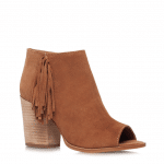 Carvela tassel tan cut out ankle boot