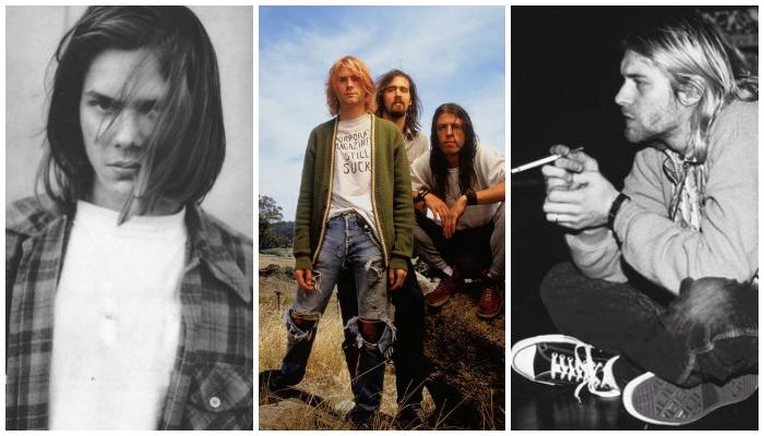 Kurt cobain grunge style