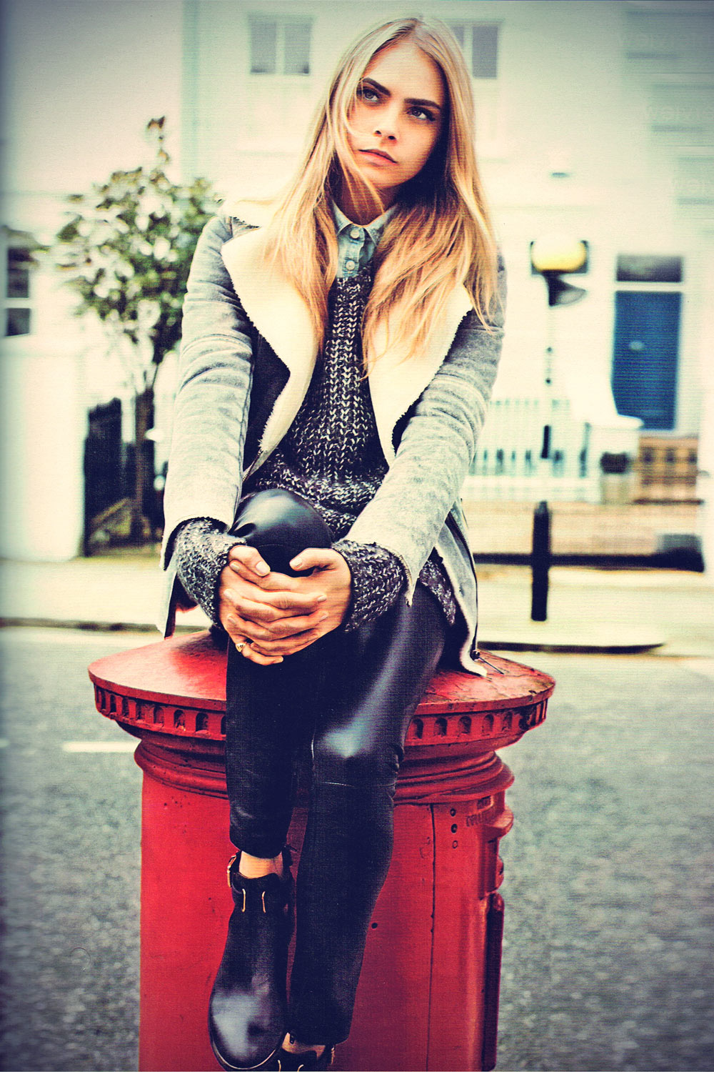 leather celebrity cara delevingne leather pants style