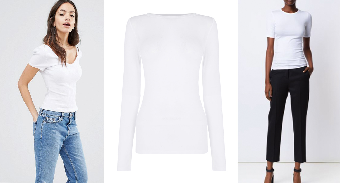 Six women choose the white shirt that best expresses their style. The easiest way any woman can look great without really trying? Invest in a versatile white blouse.