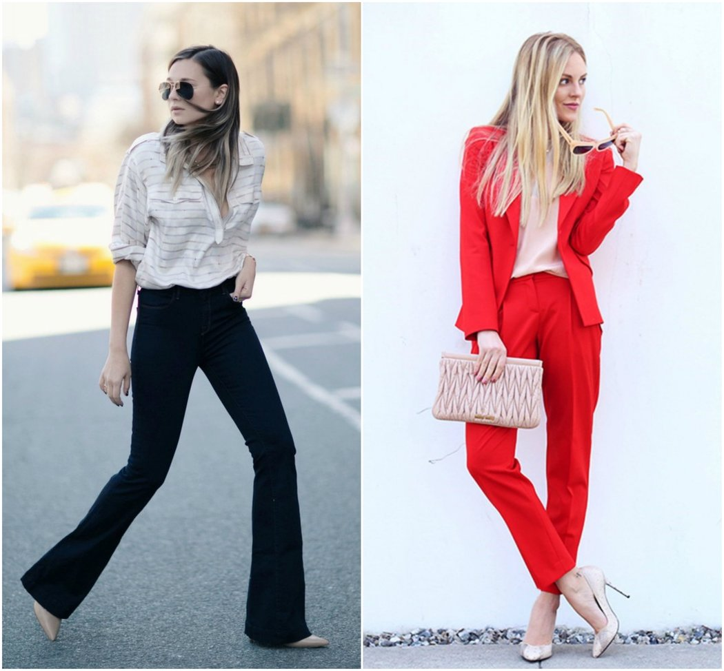 the best business casual work wear outfits for women trouser suit blouse flares business casual work wear