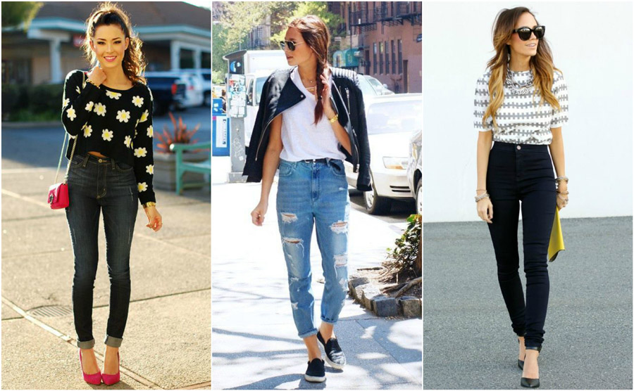 The Best High Waisted Jeans How They Should Fit What To Style Them With