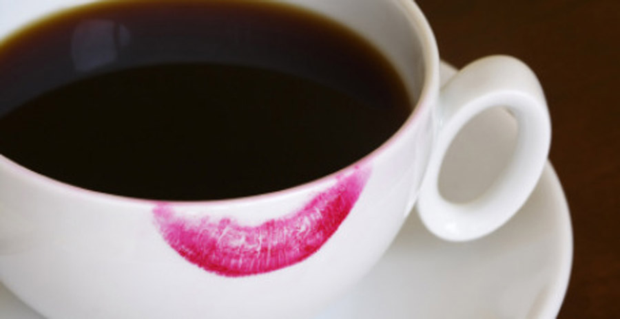 Image result for lipstick on mug