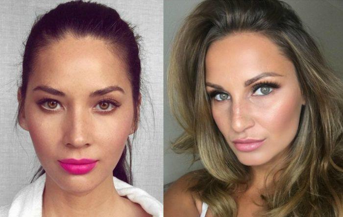 Olivia Munn and Samantha Faiers, Trichotillomania sufferers, eyelashes