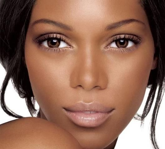 nude lips, dark skin, completion, beauty, trend