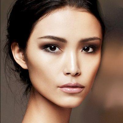asia, nude, skin, asian skin, trend, beauty, look, nude lips