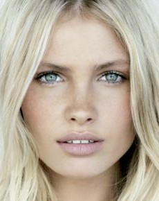 pale skin nude lipstick beauty look