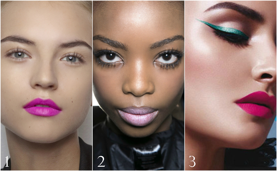 bubblegum-pink-lipstick-beauty-how-wear-lashes-mascara-liner