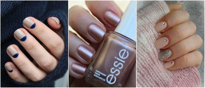 Nude Nails for Winter