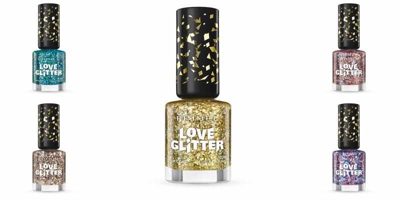 Rimmel Love Glitter Collection 2016