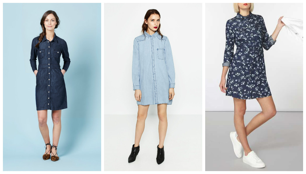 denim shirt dresses