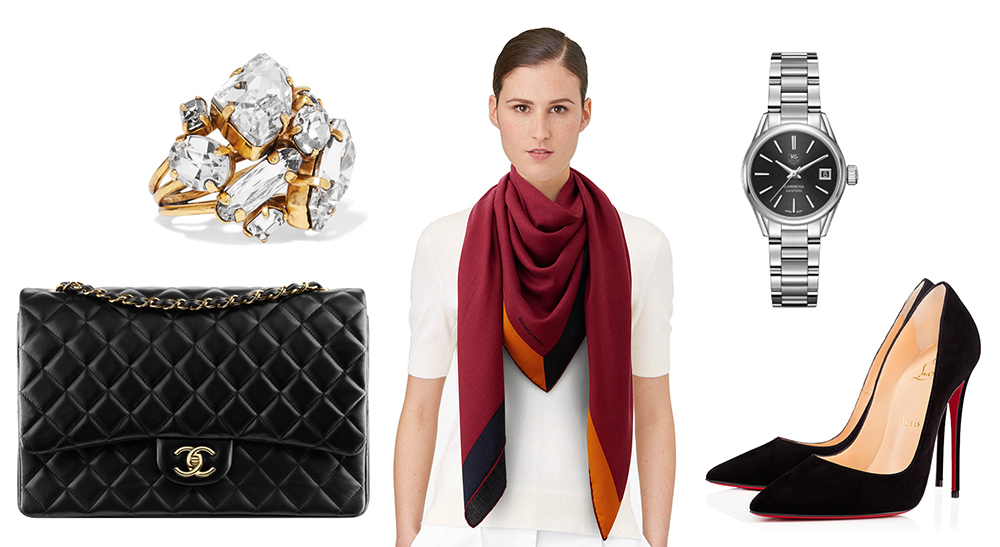 outfit-grid-womens-fashion-30-must-haves-chanel-hermes