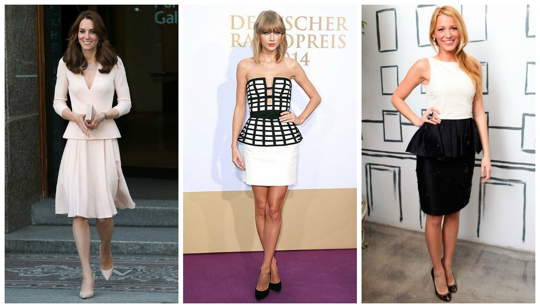 celebrity-peplum-dresses