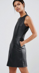 Warehouse Leather Look Mini Dress £49