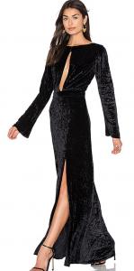 Grace Velvet Maxi Dress £293.92