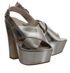 Office Party Cross Strap Slingback Platform £6