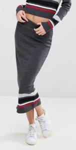 ASOS Co-Ord Knitted Skirt In Stripe £25