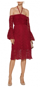 W118 by Walter Baker Lacy off-the-shoulder cotton lace dress £127.50