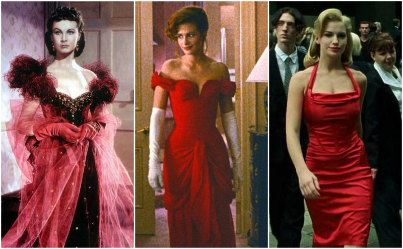 Pretty woman red dress images