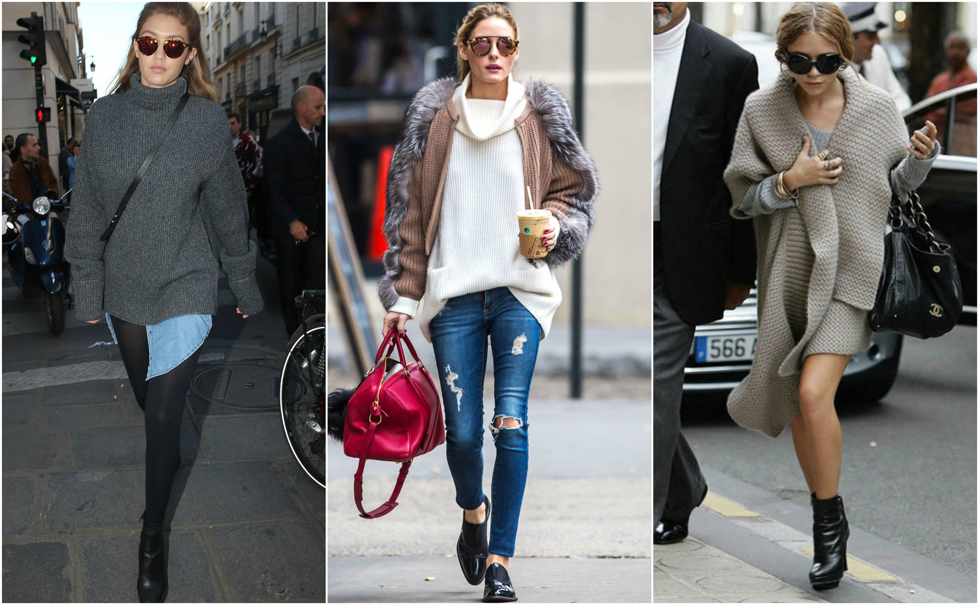 Fall Oversized jumpers