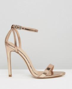 ASOS HIGH FIVE Heeled Sandals £25.00