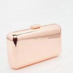 ASOS Metallic Box Clutch Bag £28.00