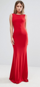Club L Deep Plunge Back Maxi Dress £25.00