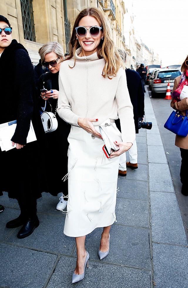 Fall work wear - Olivia Palermo