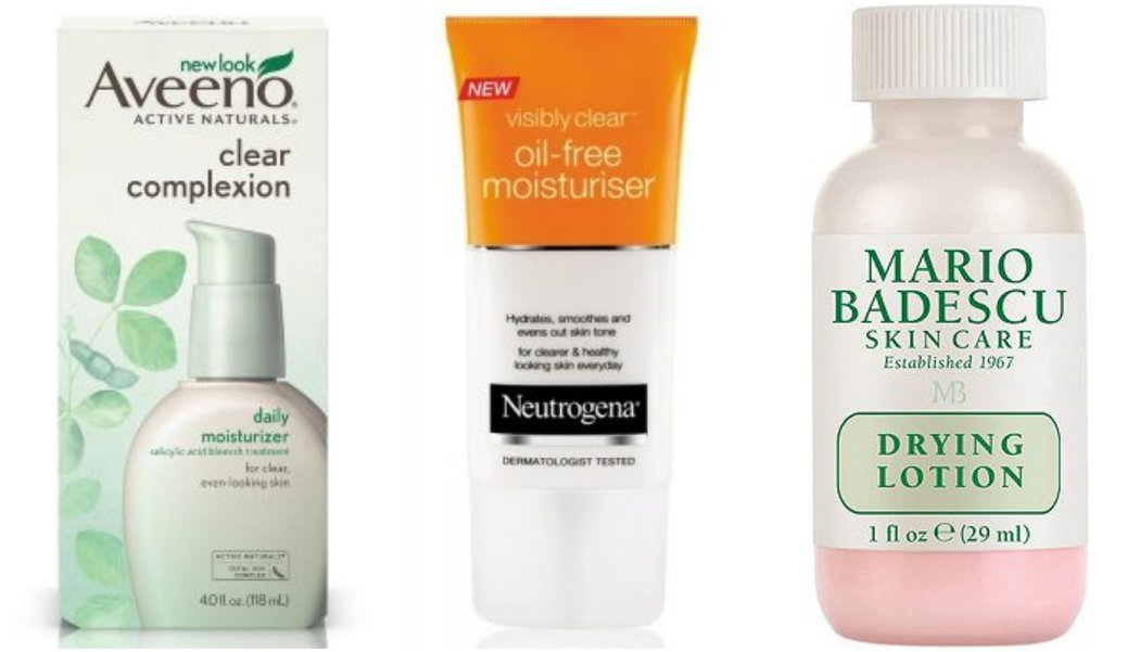 moisturizer for acne prone skin