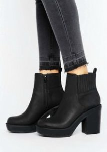 ASOS Chunky Ankle Boots