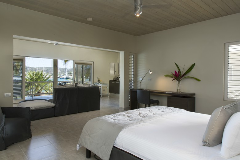 south point antigua deluxe bedroom suite imagery