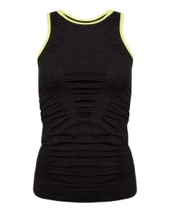 LNDR Pulse Tank Top - Black Marl £75