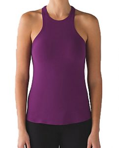 Lululemon Simply Bare Tank - Aurora/Black £52