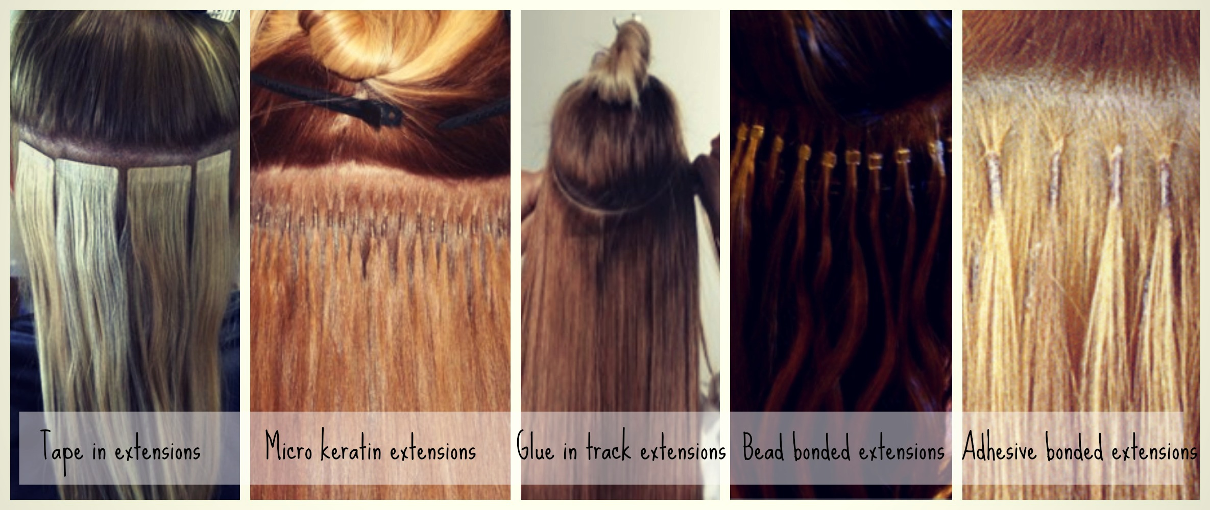 10 best hair extensions brands reviewed different types of hair extensions demonstrated tape in micro keratin glue in pmusecretfo Image collections