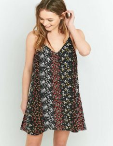 Pins and Needles Floral Slip Dress