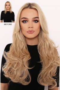 Lullabellz Double Thick Layered Curly Hair Extensions