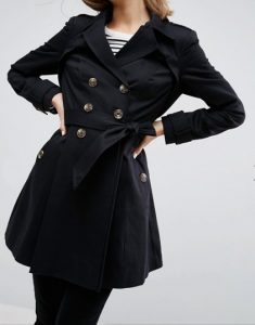 Black Mac Coat