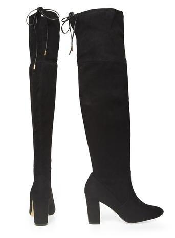 Dorothy Perkins Black 'Kassandra' Boots