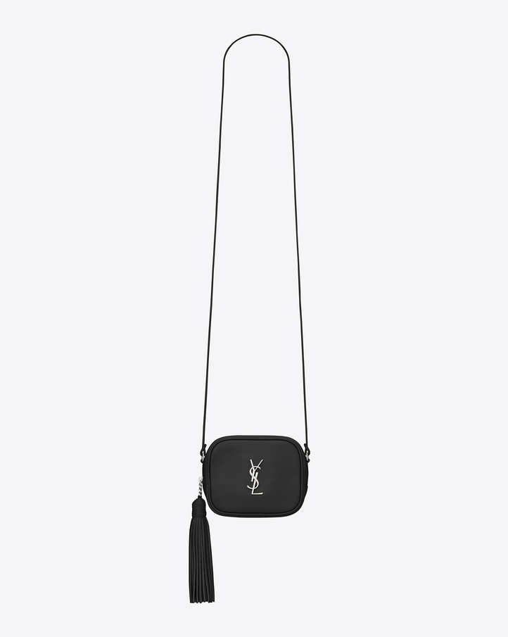 Monogram Saint Laurent Blogger Bag