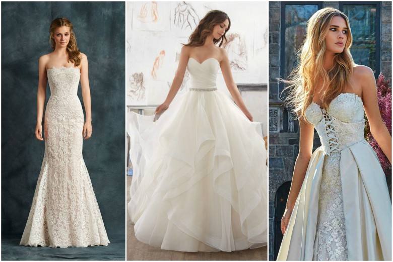 What to wear under a wedding dress for What to wear under strapless wedding dress