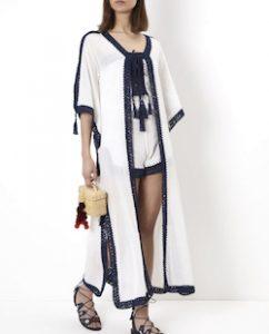 Maxi White Kimono Jacket
