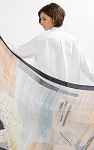 Grid Mix Print Scarf Oliver Bonas