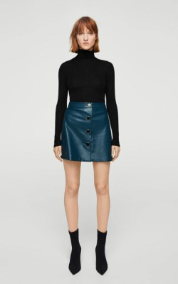 12 Pieces for a Hepburn-inspired Wardrobe Mango Turtleneck sweater - $45.99