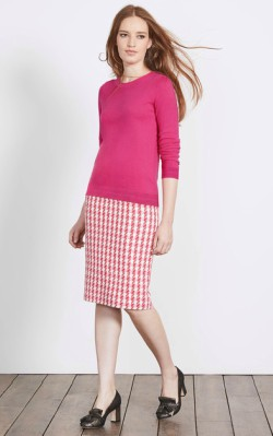 12 Pieces for a Hepburn-inspired Wardrobe - Boden FREYA PENCIL SKIRT - $120.00