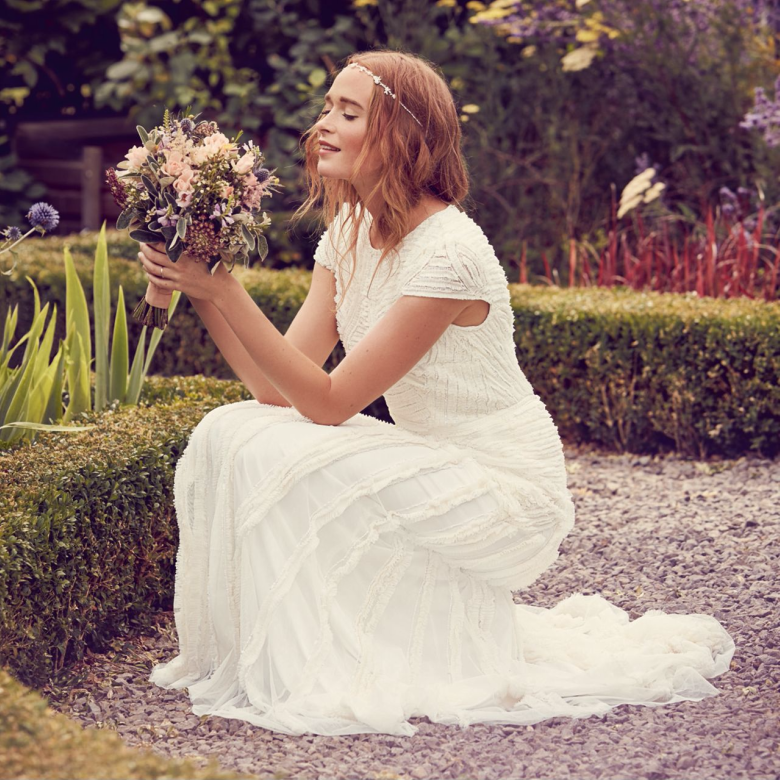 Debenhams Nine by Savannah Miller - Ivory 'Anabella' wedding dress