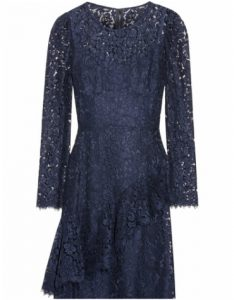 Net-a-Porter Dolce and Gabbana Ruffled Corded Lace Dress