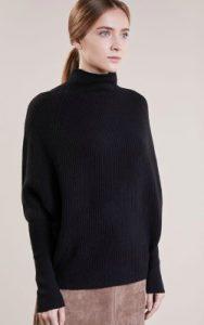 Zalando Club Monaco Emma Jumper (Black) - £324.99 in darker shade