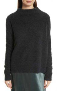 Nordstrom Vince Cashmere Funnel Neck Pullover - $385 dark cashmere jumper