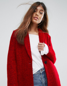 ASOS Suncoo Wool Coat